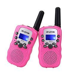 Retevis RT-388 Portable Kids Walkie Talkie 22 Channel FRS/GM