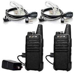 Retevis RT22 Two Way Radio UHF 16 CH VOX License-free Walkie