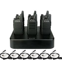 Retevis RT22 Walkie Talkies 16CH VOX Emergency Alarm6*Radio+