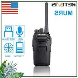 Retevis Walkie Talkie RT27V two Way Radio VHF MURS 5CH Licen