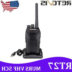 Retevis RT27 Walkie Talkies VHF MURS  two Way Radio Handheld