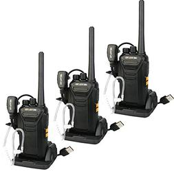 Retevis RT27 Walkie Talkies Rechargeable 2 Way Radios with C