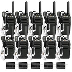 Retevis RT28 Two Way Radios Rechargeable FRS Emergency Alar