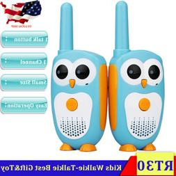 Retevis RT30 Kids Walkie Talkie Owl Appearance 2WAY Radio 1C