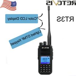 Retevis RT3S Dual Band 3000CH 136-174&400-480MHz TDMA Alarm