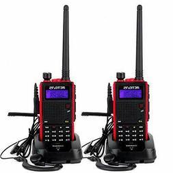 Retevis RT5 Long Range Walkie Talkies Dual Band VHF/UHF 128