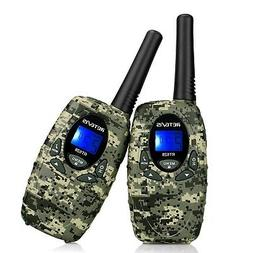 Retevis RT628 VOX UHF Portable 22 Channel FRS Kids Walkie Ta
