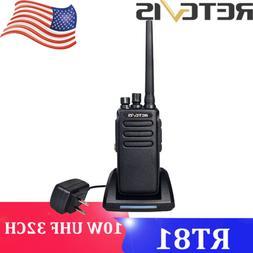 Retevis RT81 DMR 10W 32CH UHF Walkie Talkie Long Range Digit