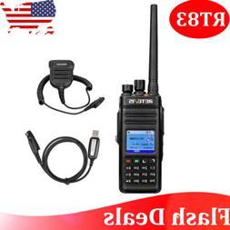 Retevis RT83 GPS UHF 400-470MHz 2800mAh DMR Digital Walkie T