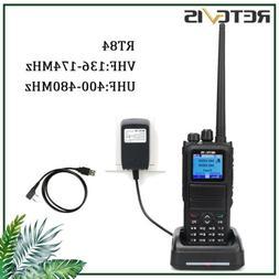 Retevis RT84 Dual Band DMR Alarm 3000CH 5W High Sound Walkie