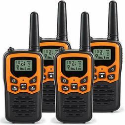 RV 7 Walkie Talkies for Adults Long Range 4 Pack 2 Way Radio
