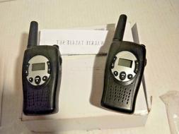 Set of 2 self rechargeable Walkie Talkies  Black  Set of 2