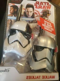 Disney Star Wars Walkie Talkies Set Static Free Extended Ran