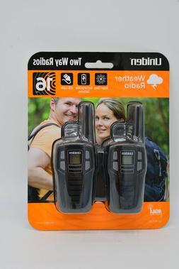 Uniden SX167-2C Up to 16 Mile Range, FRS Two-Way Radio Walki