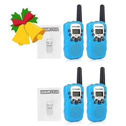 2 Pairs BellSouth T-388 Two Way Radio Handheld Walkie Talkie
