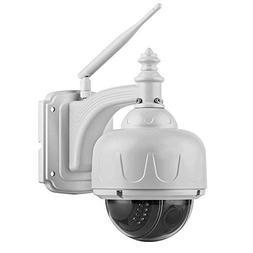 FLOUREON 1.3MP 960P 1280 X 960 P/T Wireless IP Camera Dome S