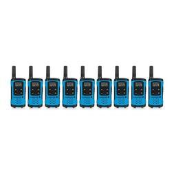 Motorola T100TP Talkabout Radio, 9 Pack
