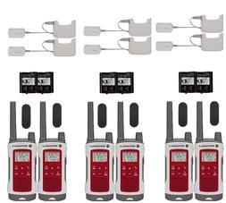 Motorola T480 6 PACK Two Way Radio Walkie Talkies  22 Channe
