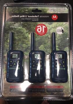 Motorola Talkabout 2 Way Radio Brand New 3 Pack MG163TPA Wal