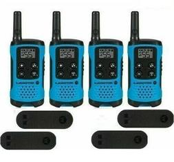 Motorola Talkabout T100 Walkie Talkie 4 Pack Set 16 Mile Two