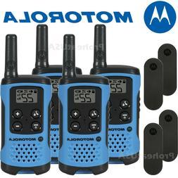 Motorola Talkabout T100 Walkie Talkie 4 Pack Set 16 Mile Two