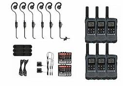 Motorola Talkabout T200TP Two Way Radio 6 Pack Set with PTT