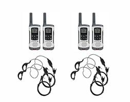 Motorola Talkabout T260 FRS/GMRS Two-Way Radio 4-Pack with 4