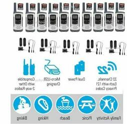 Motorola Talkabout T260 Walkie Talkie 10 Pack 25 Mile Range