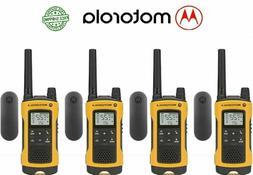 talkabout t402 4 pack walkie talkie 35