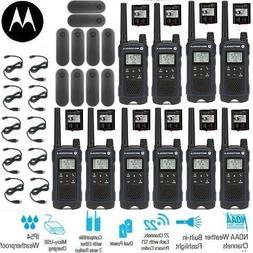 Motorola Talkabout T460 Walkie Talkie 10 Pack Set 35 Mile Tw