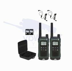 Motorola TALKABOUT T465 Two-Way Radio Walkie Talkies PTT Ear