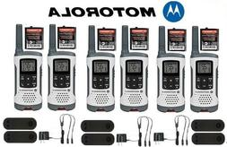 Motorola Talkabout T465 Walkie Talkie 4 Pack 35 Mile Two Way