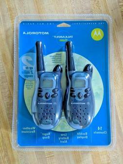 Motorola Talkabout Walkie Talkies T5300 - Set of 2 Two Way R