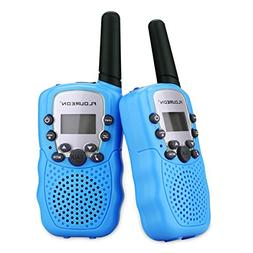 FLOUREON Twin Kids Walkie Talkies Two Way Radios 22 Channel