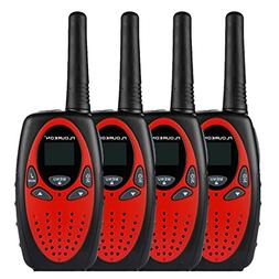 Floureon Twin Walkie Talkies Toy 22 Channel FRS/GMRS UHF462-