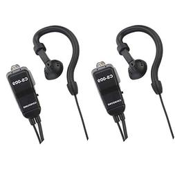 Two Way Radio Earpiece Compatible Midland AVPH4 Ear-Clip Two