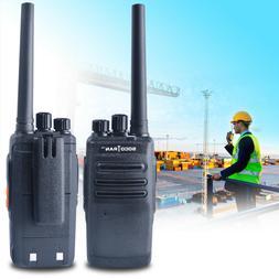Two Way Radio Handheld Walkie Talkies Long Range Protable UH