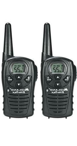 Midland Up To 18 Mile Range Two Battery Operated Walkie Talk