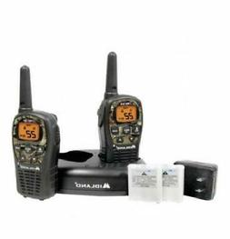 Midland Up To 24 Mile Range 2 CAMO Walkie Talkies with Charg