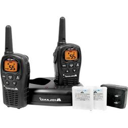 Midland Up To 24 Mile Range 2 Walkie Talkies with Chargers B