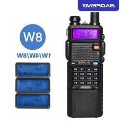 Upgrade 8W BaoFeng UV-5R Walkie Talkie VHF/UHF Handy Dual Ba