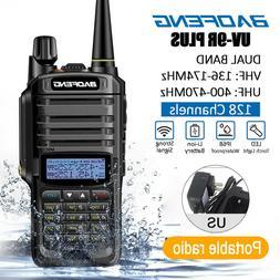 US BAOFENG UV-9R Plus Walkie Talkie VHF UHF Dual Band Handhe