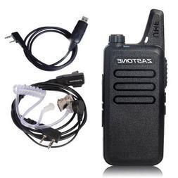 USA Stock Zastone ZT-X6 Mini Portable Walkie Talkie 16CH UHF