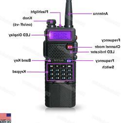 BAOFENG UV-5R 3800mah HIGH Battery Dual Band Two-way Walkie-