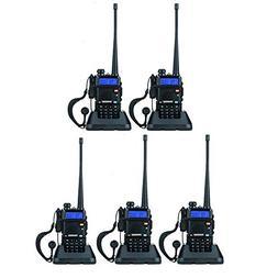 BaoFeng UV-5R Dual Band Walkie Talkie VHF UHF Two Way Radio