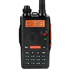 UV-5R EX 5W Dual Band Two Way Radio Long Range Rechargeable