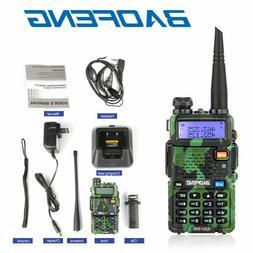 Baofeng UV-5R Green UHF VHF Dual Band Two Way Ham Radio Walk