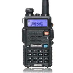 BAOFENG UV-5R VHF UHF Dual Band Two Way Ham Radio Transceive