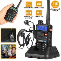 BAOFENG UV-5R VHF UHF Dual Band Two Way Ham Radio Transceive
