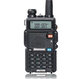 BAOFENG UV-5R VHF/UHF Dual Band Two Way Ham Radio Transceive